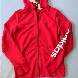 Pink Adidas Zip Hoodie